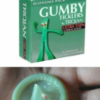 Are Gumby Ticklers Condoms Made of Clay?