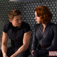 Jeremy Renner Is Really Vein-y In New 'Avengers' Still