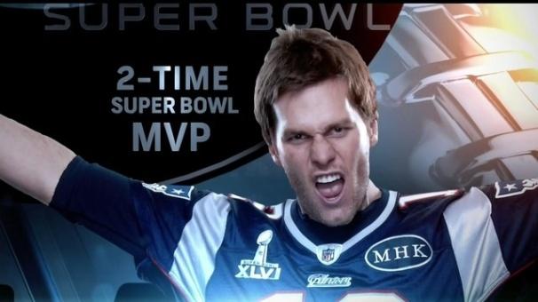 Tom Brady Super Bowl XLVI