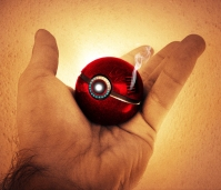The Pokeball of Iron Man (Marvel)