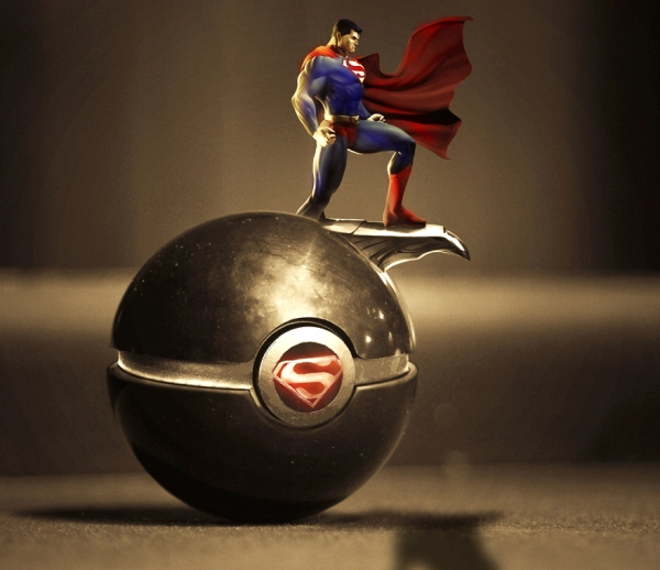 The Pokeball of Superman (DC Comics)