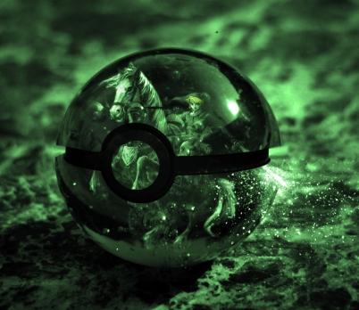 The Pokeball of Link (Legend of Zelda)
