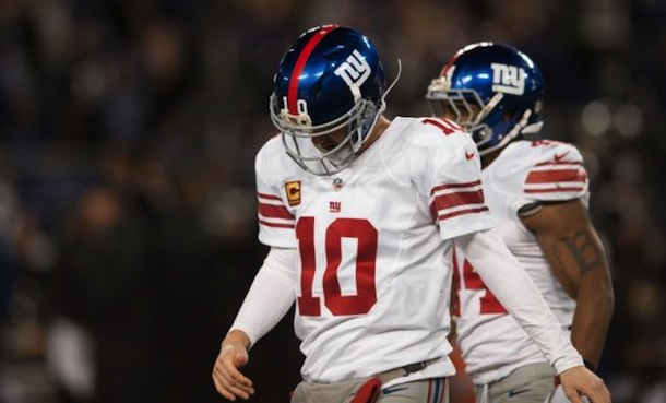 eli manning new york giants 2012