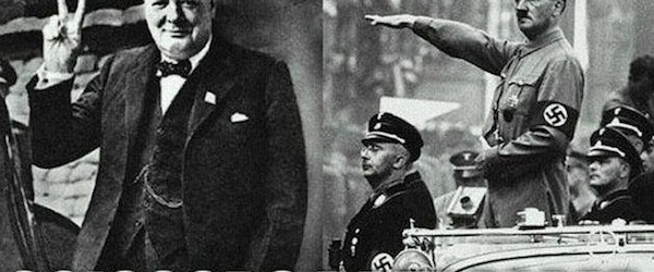 winston churchill adolf hitler funny