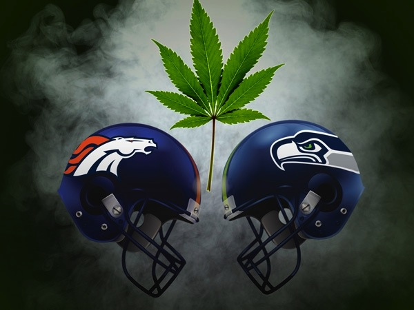 super bowl 2014 broncos seahawks marijuana