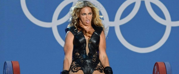beyonce olympics power weightlifting