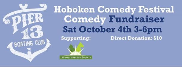 Hoboken Comedy Festival fundraiser Liberty Humane Society