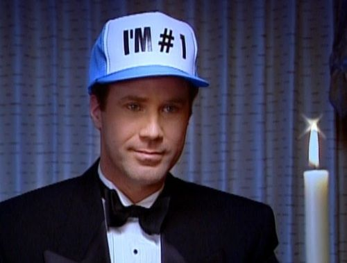 will ferrell i'm number 1 hat weston collection snl