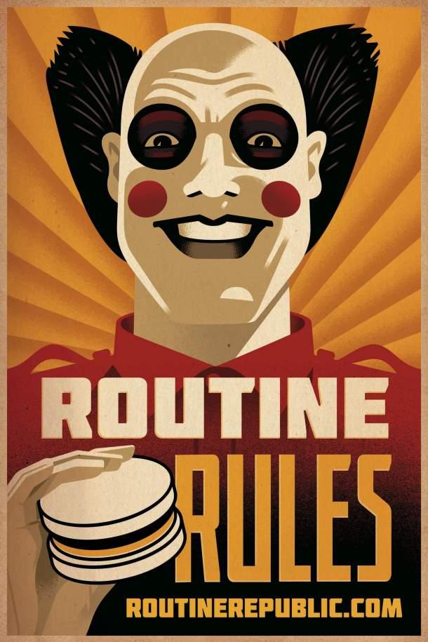 mcdonalds ronald mcdonald routine rules taco bell ad