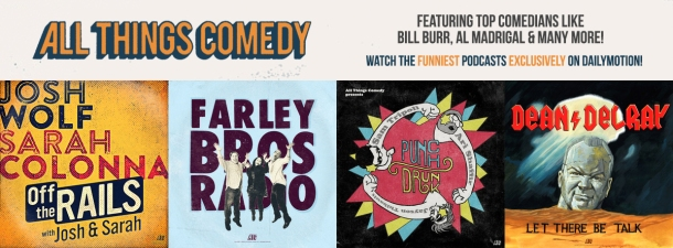 all things comedy podcasts
