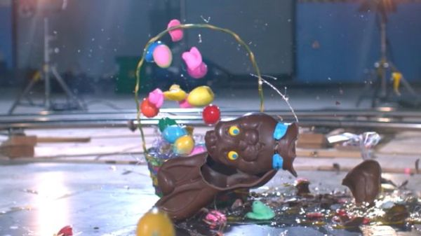 wired battle damage easter candy video