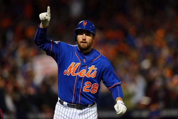Daniel Murphy Mets 2015 playoffs mlb baseball postseason