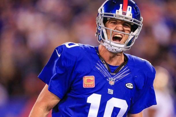 Eli Manning giants 49ers 2015 NFL football nj