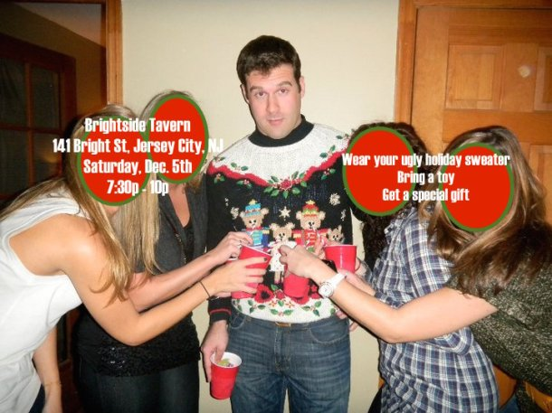 neal lynch ugly holiday sweater