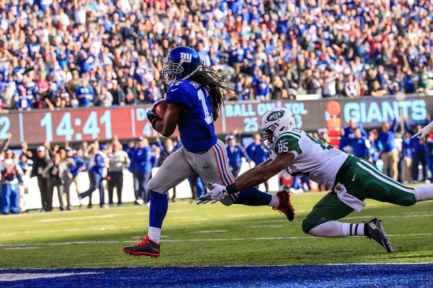 Dwayne Harris Giants Jets nfl 2015 week 13 football