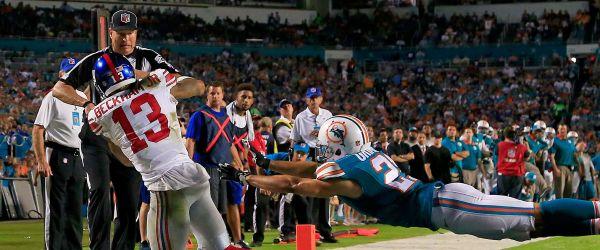 Odell Beckham Jr giants dolphins NFL 2015 week 14 football game catch