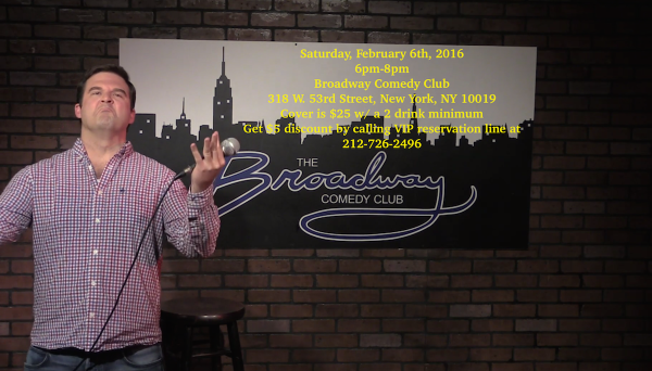 neal lynch broadway comedy club feb 2016
