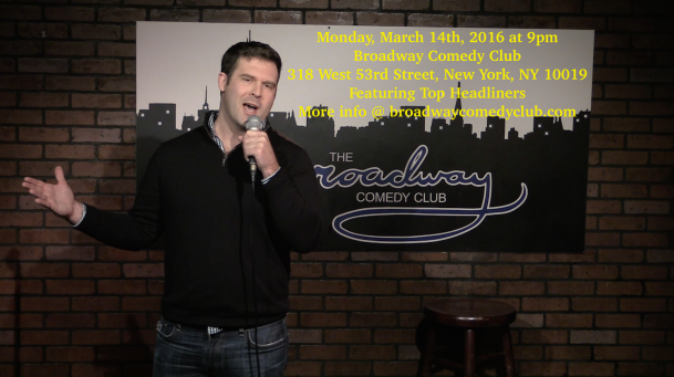 neal lynch comedian broadway comedy club 2016