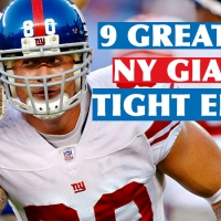 The 9 Greatest New York Giants Tight Ends Of All-Time