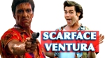 Scarface Tony Montana and Ace Ventura in Scarface Ventura