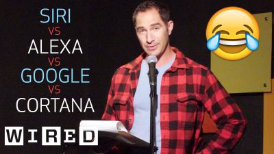 wired brent rose jokes siri alexa cortana