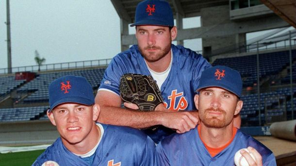 "Jason Isringhausen, Paul Wilson, and Bill Pulsipher - better known as ""Generation K"". Image via Newsday.com."