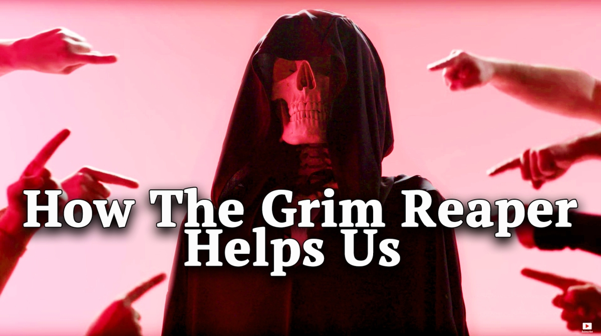 How The Grim Reaper Helps Us Cope With Death Through Comedy [VIDEO]