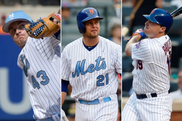 new york mets addison reed lucas duda jay bruce