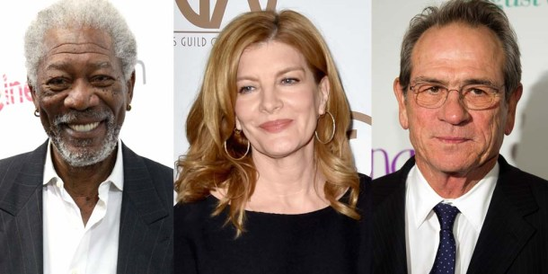 Villa Capri: Tommy-Lee-Jones, Rene Russo, Morgan Freeman