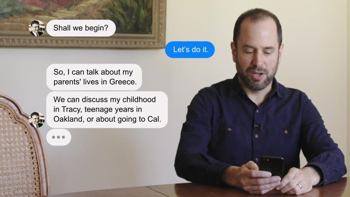 A Son Talks To His Dead Father with an AI Chatbot He Created Called 'Dadbot'
