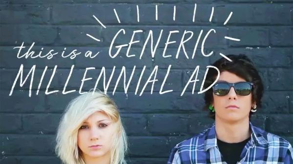 generic millennial ad