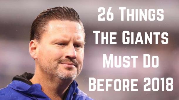 Ben McAdoo Giants Head Coach