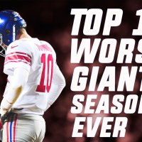 Top 10 Worst NY Giants Seasons of All-Time