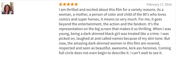 Black Panther Rotten Tomatoes Audience Review
