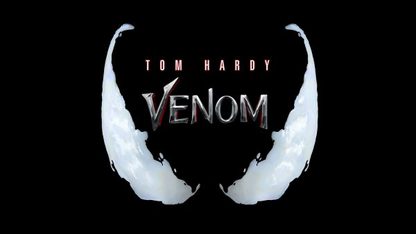Venom 2018 movie poster featuring Tom Hardy
