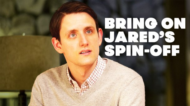 "Silicon Valley's Donald ""Jared"" Dunn, played by actor Zach Woods"