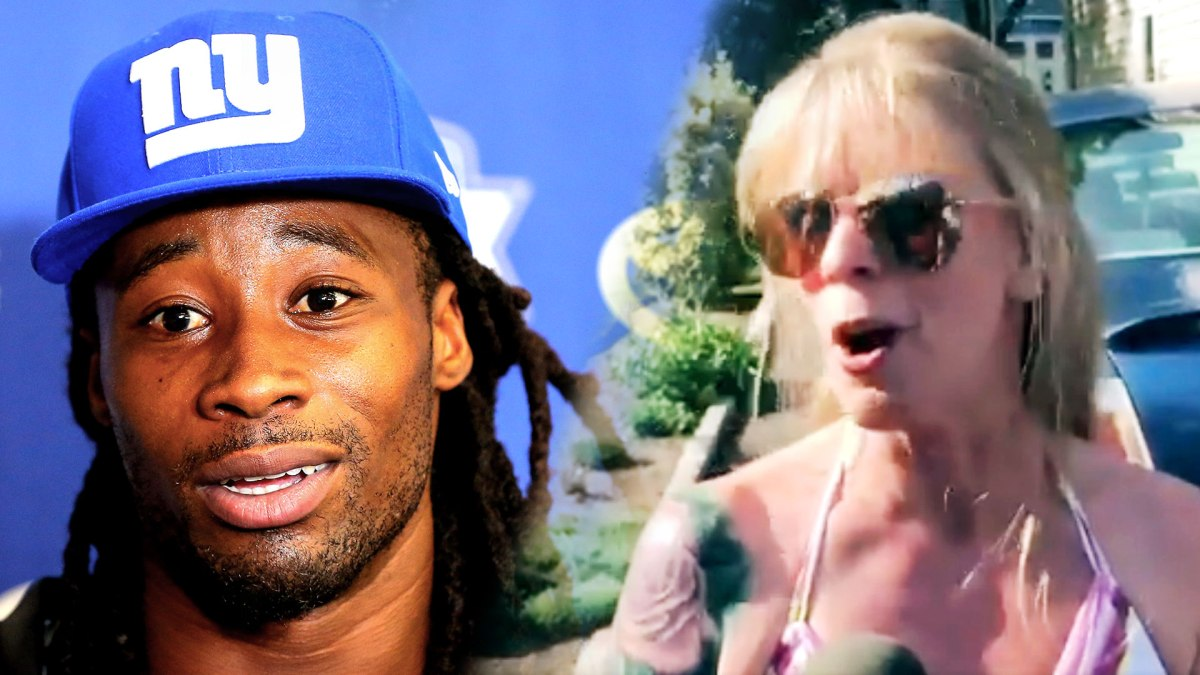 Janoris Jenkins' Neighbor is a Person of Interest in that She's an Interesting Person