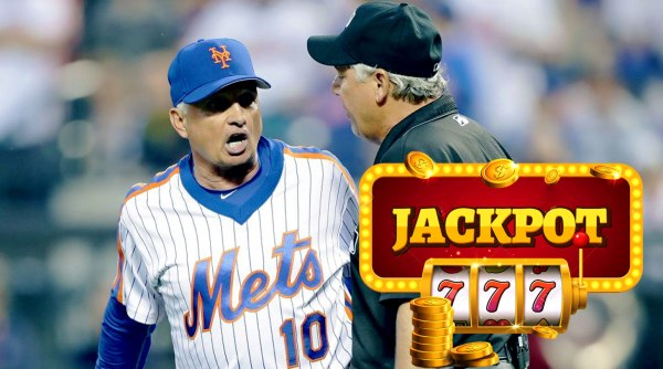 New York Mets manager Terry Collins getting ejected after Noah Syndergaard threw behind Chase Utley in a 2016 MLB baseball game.