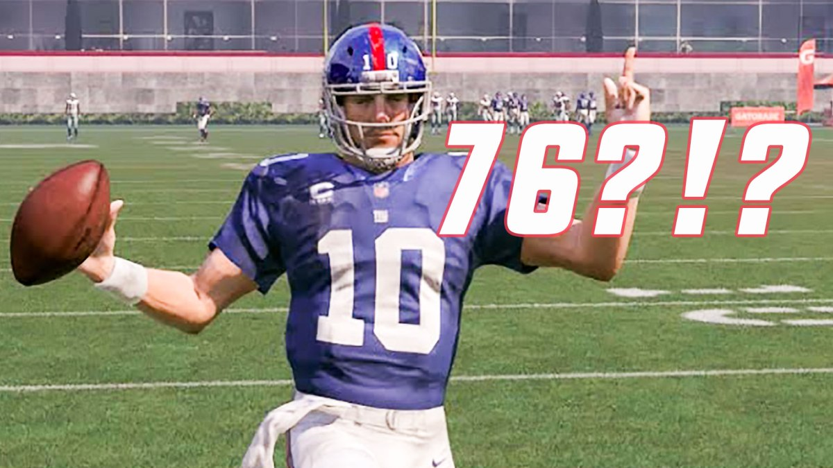 No One Should Care About Madden Ratings, But Eli Manning Getting a 76 is Obnoxious