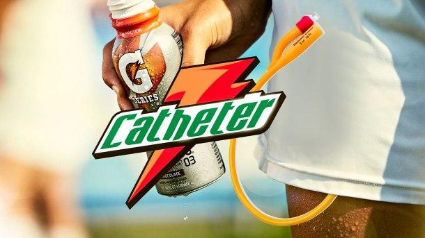 Gatorade catheter