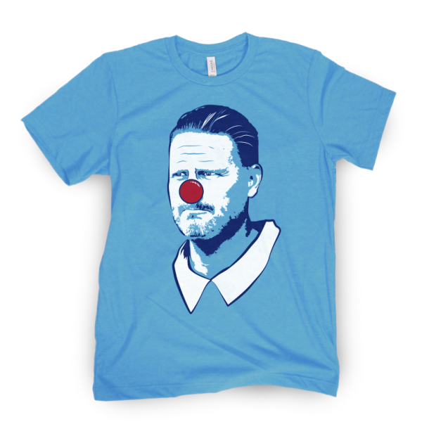 Ben McAdoo Clown t-shirt barstool sports store