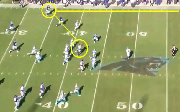 New York Giants were one lateral away from beating the Carolina Panthers on the final kickoff return.