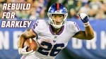 NY Giants running back Saquon Barkley will carry the team during the rebuild.