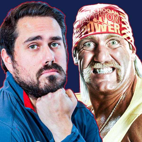 Big Cat Dan Katz and Hulk Hogan