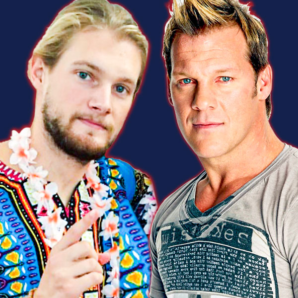Caleb Pressley and Chris Jericho