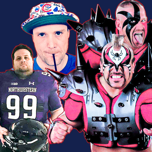 Carl and Eddie and The Legion of Doom Road Warriors