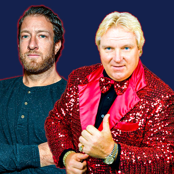 El Pres Dave Portnoy and Bobby The Brain Heenan