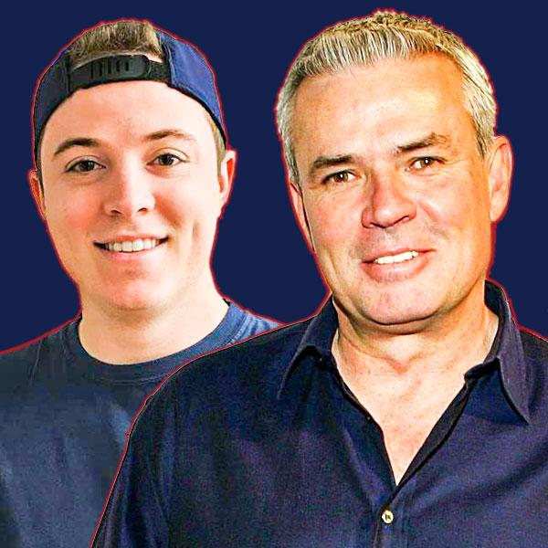 Frankie Borelli and Eric Bischoff