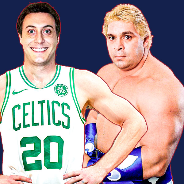 Greenie Dan Greenberg and Dino Bravo