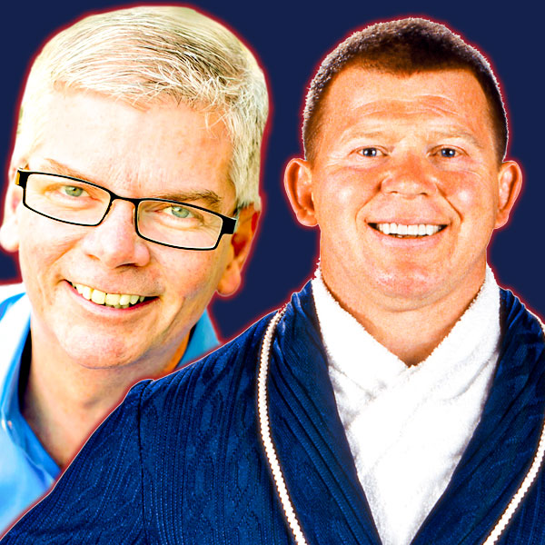 Jerry Thornton and Bob Backlund